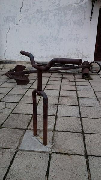 Брутальная вилка для велосипеда