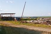 Газ-Сале. Свалка на берегу
