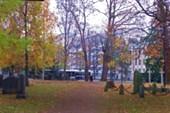 Тампере. Кладбище в черте города
