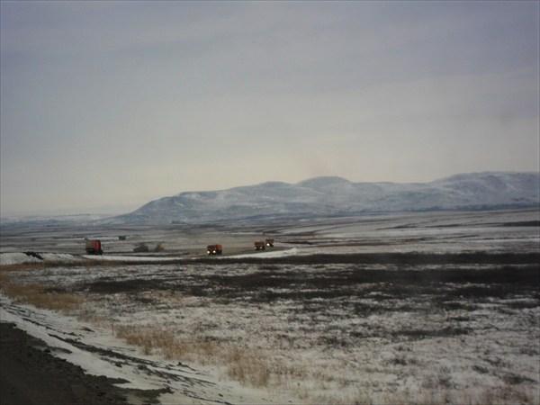Дорога на Ярынскую КС
