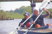 Первый  километр водного сезона 2008