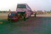 Этим автобусом в Корлу завезли не только нас, но и пиво