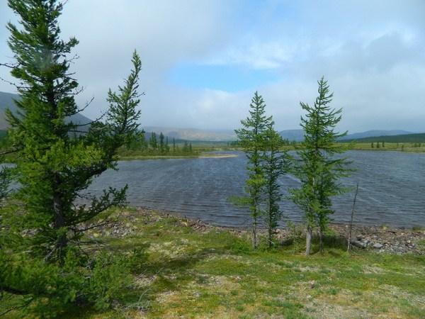 Третье озеро.