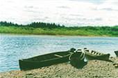 Лодки на Берегу Печоры