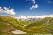Вид на перевал Калмак-Ашуу