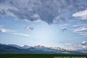 Вид на хр Терскей-Алатау с юга
