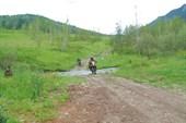 Начало пути на Ороктойский перевал. Фото И. Агашкиной