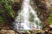 Водопад на реке Черёмуховой