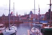 Гданьск. Вид с Амбарного острова