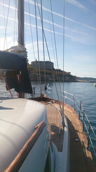 на фото: Яхта Black Fox