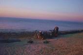 На Таганрогском заливе.