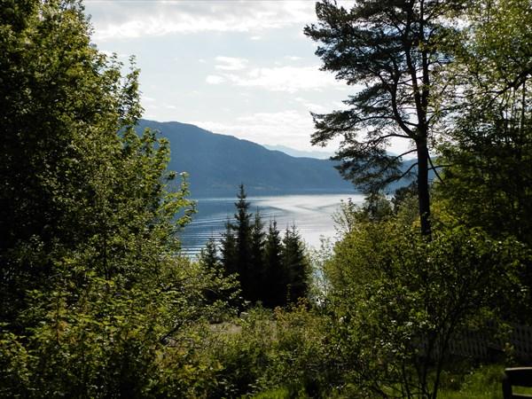 Почти каждый дом в Норвегии имеет виды на море или озеро