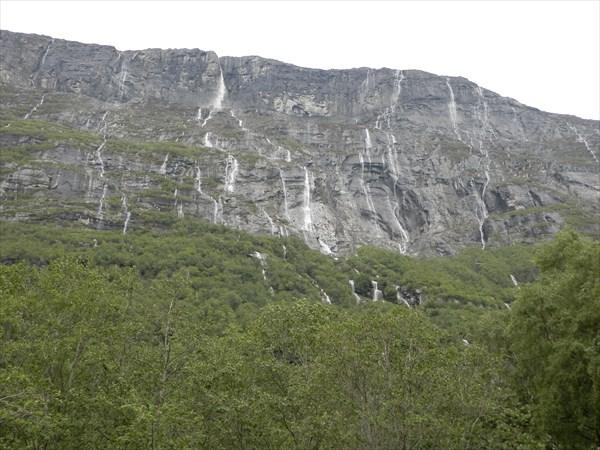 Небесные водопады