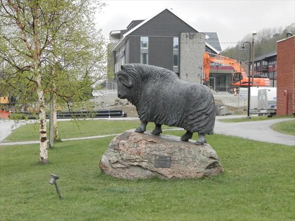 Памятник овцебыку