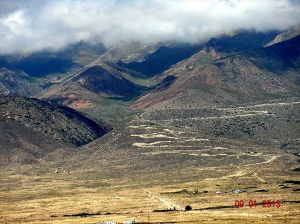 Дорога на перевал Кок-Айрык.