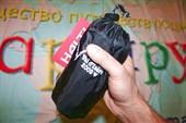 в этот чехле суперкомпактный рюкзак от фирмы HALTI