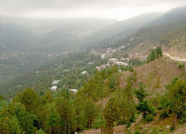 Горный район Мюррей к северу от Исламабада