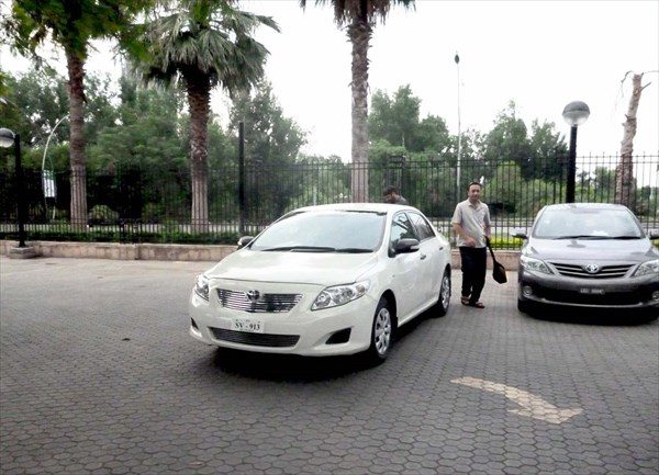 """""""Тойота"""" для поездки в Лахор"""