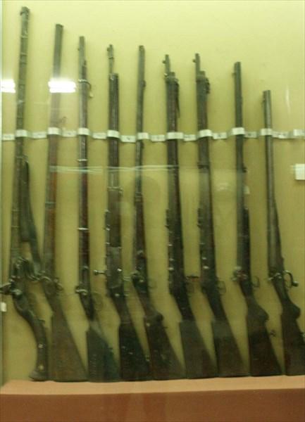Ружья разных эпох