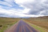 Дорога из Кызыла.