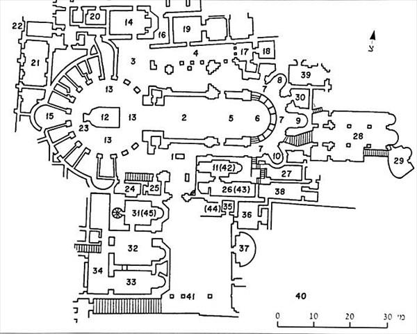027-Схема храма Гроба Господня