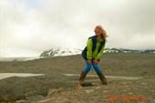Грён-фьорд .ледник
