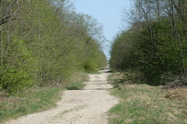 Дорога в районе Лаврово