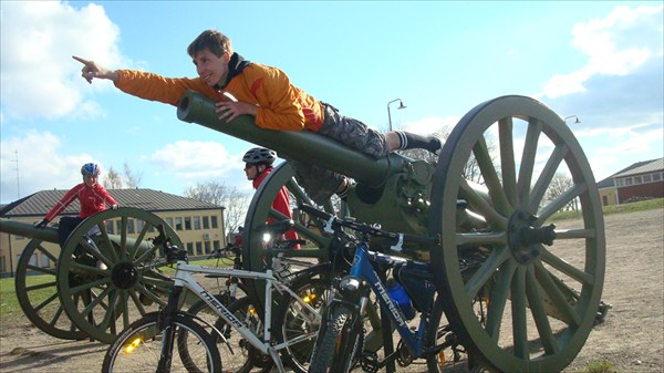 Французские пушки в крепости Вильманстранд (Лаппеэнранта)