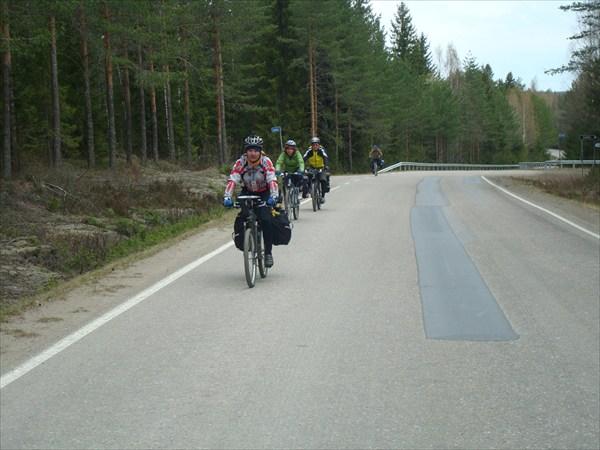 Велопитерская группа возвращается домой