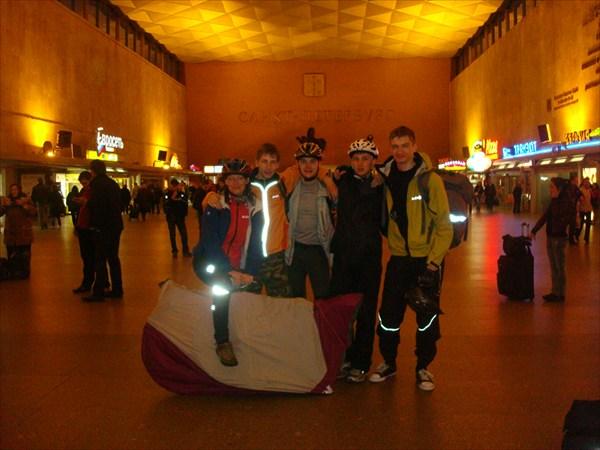 На Московском вокзале в Санкт-Петербурге