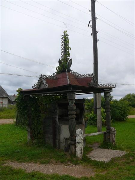 Мирславль. Колодец, место для привала