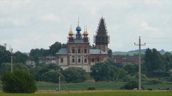 Свято-Троицкий храм с.Шекшово