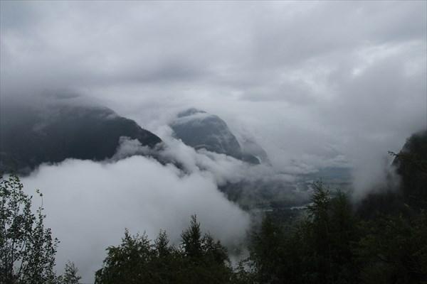 Балыкча в облаках