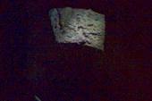 В стенах церкви узкий ход наверх