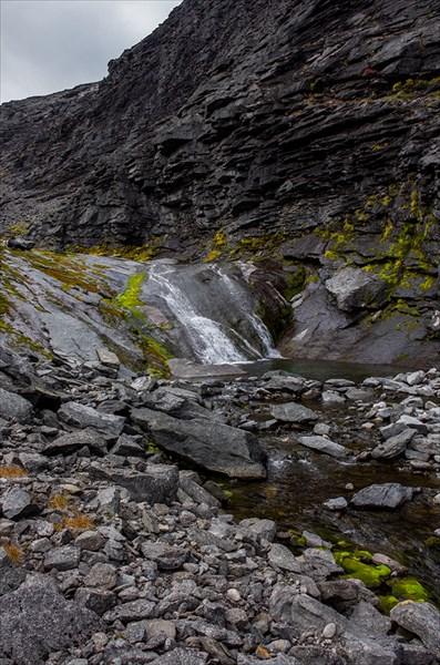 Водопады на Чинглусуае