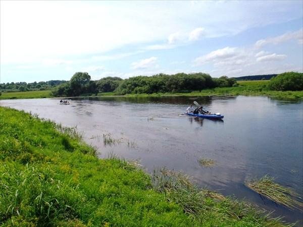 Устье реки Снопоть.