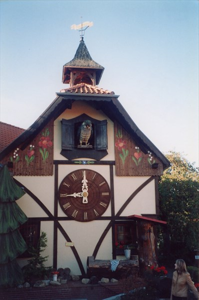 Гернроде, дом с кукушкой
