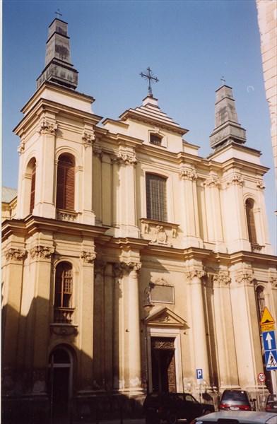 Костел св. Францишека Серафицкого, Варшава