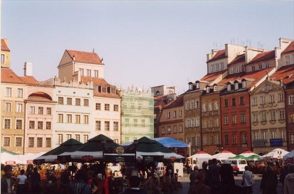 Рыночная площадь, Варшава