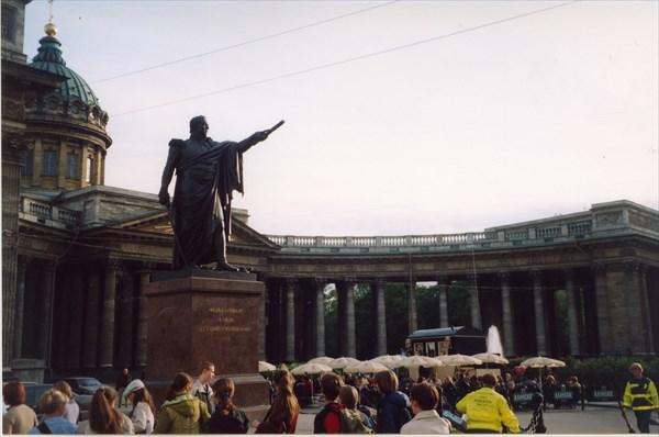 Памятник Кутузову, Казанский Кафедральный Собор