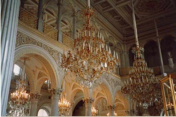Павильонный зал, Эрмитаж