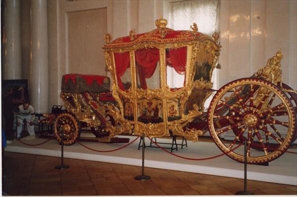 Коронационная карета Екатерины II, Эрмитаж