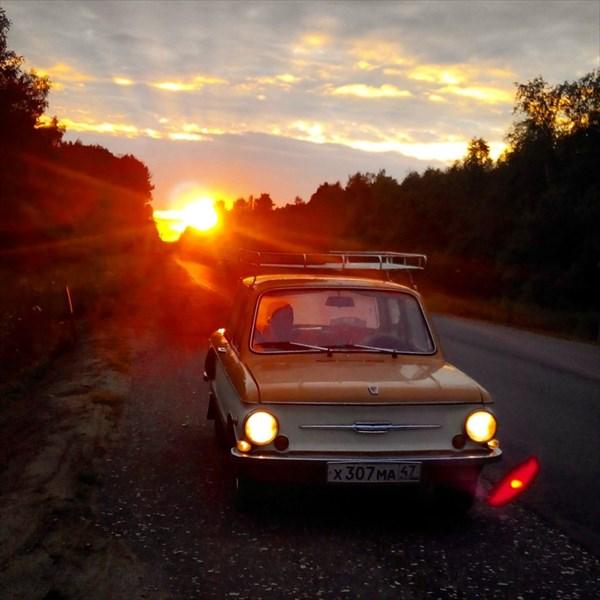 02 -  Где-то в пути за Псковом