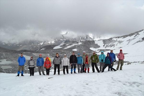 Группа на перевале Удачный