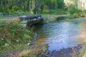 Мост через речку Кужо