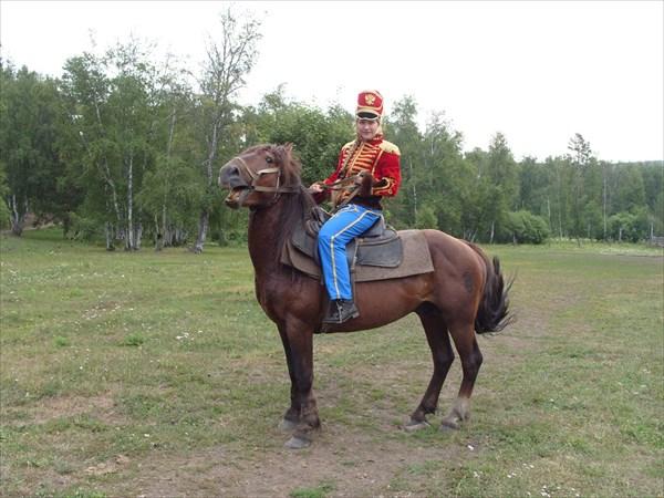 Костюмированный конный поход