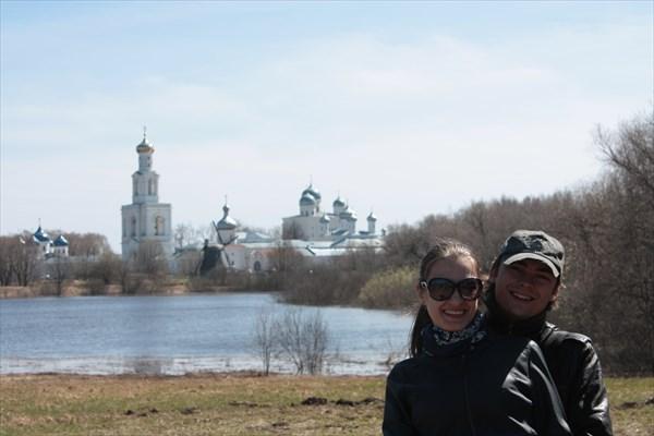Вид на Юрьев монастырь 1030
