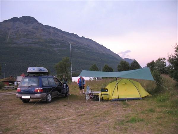 Последняя ночевка в Норвегии