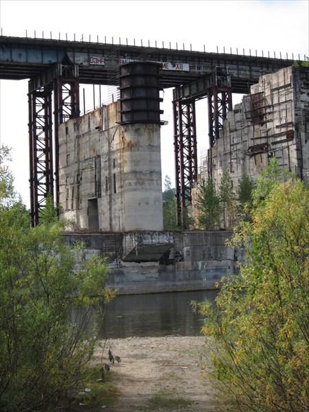 Вот она - наша несостоявшаяся ГЭС