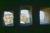 Вид из пещеры в Чуфут-Кале